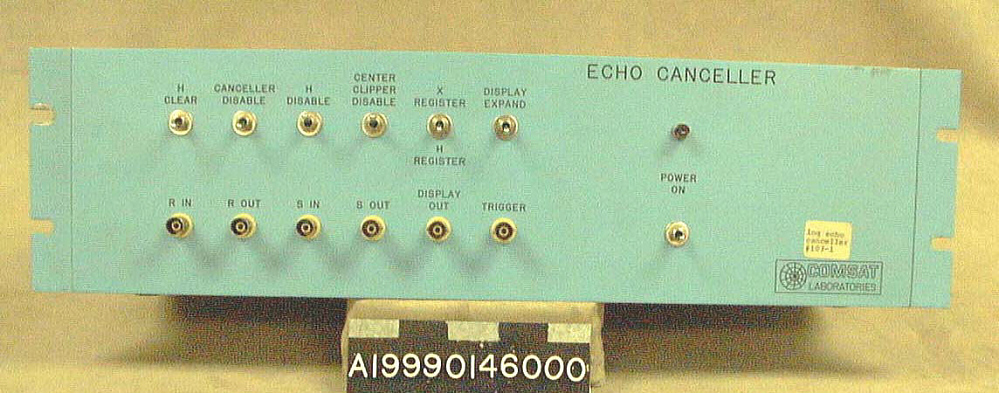 Echo Canceller, Ground Equipment, Communications Satellite