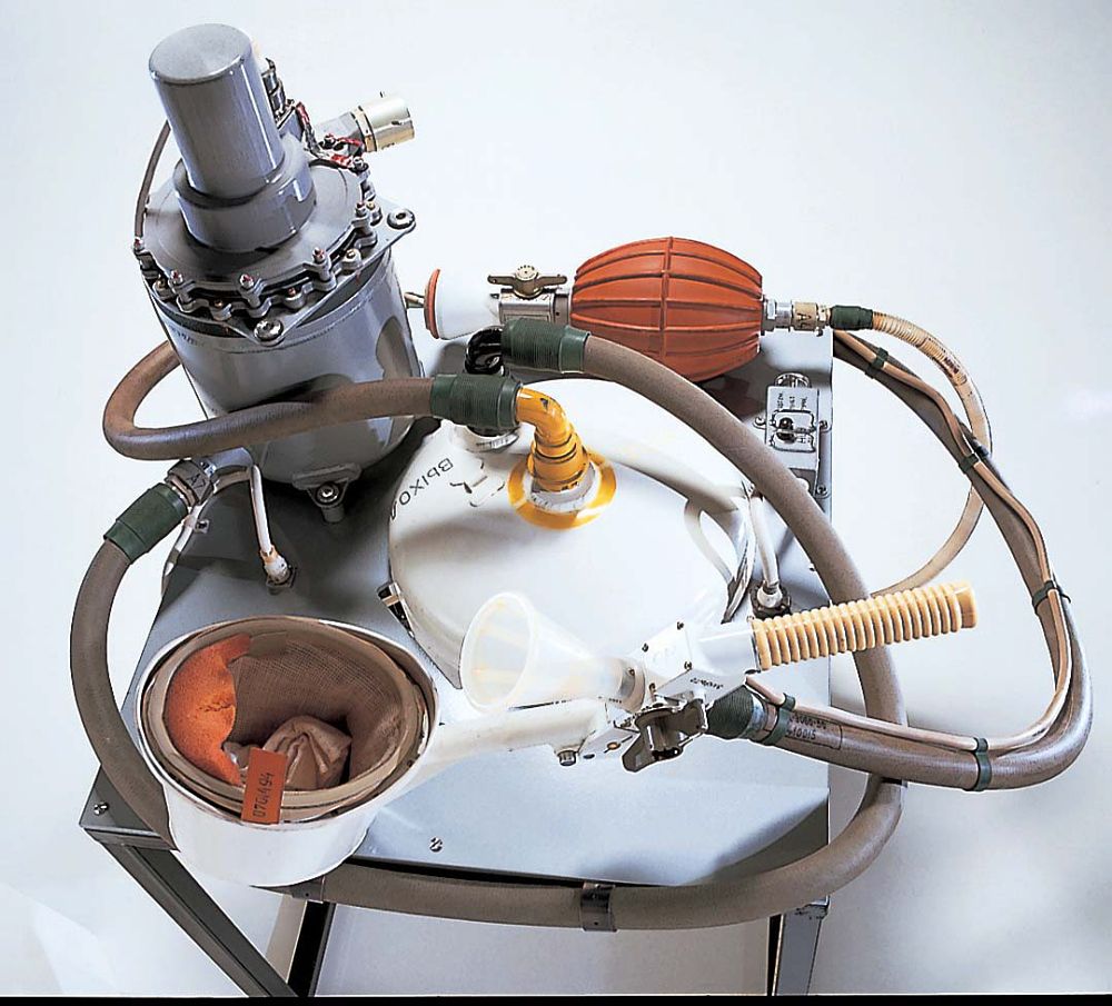 Human Waste Disposal Unit, Soyuz Spacecraft, Male Configuration
