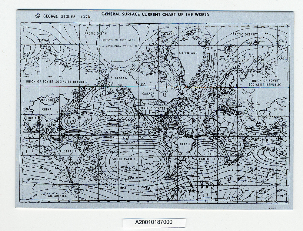 Chart, General Surface Currents