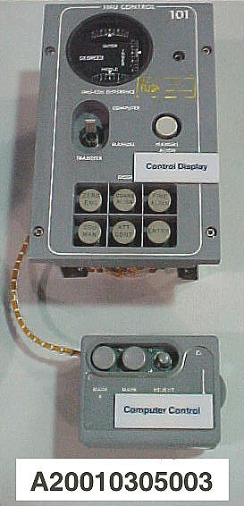 Sextant Controller, Inertial Measurement Unit, Apollo Guidance/Navigation System