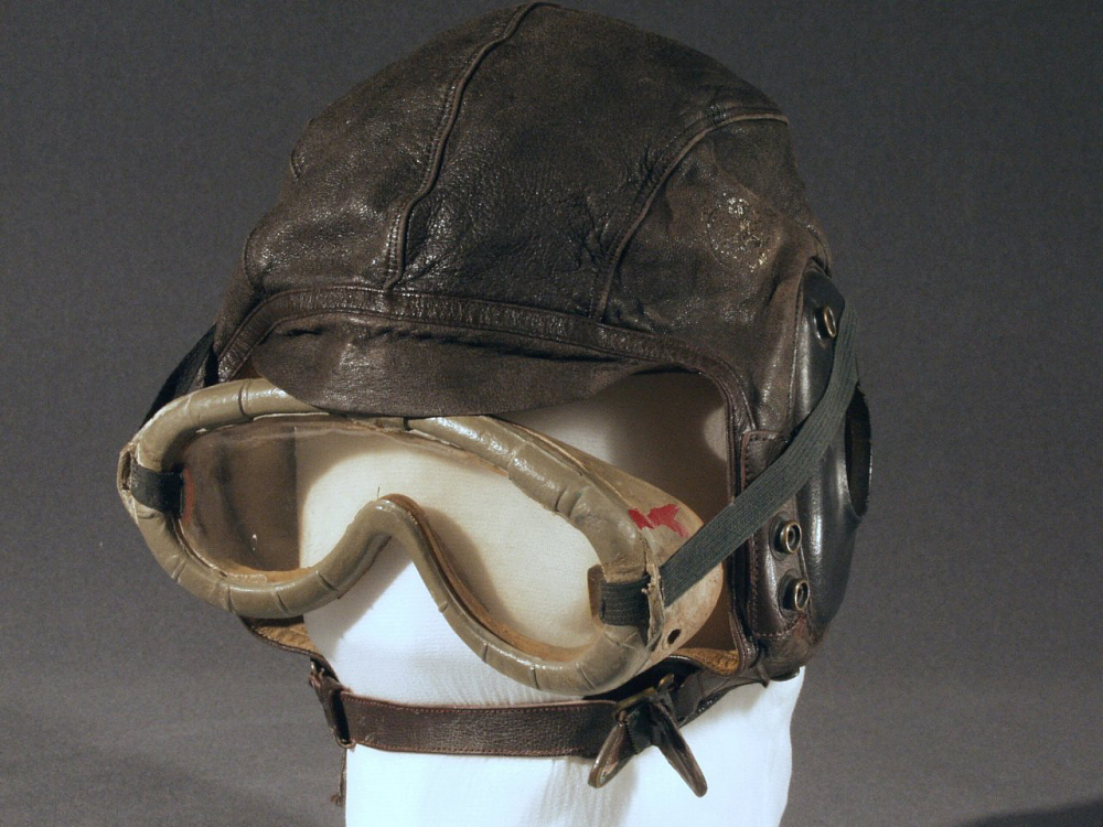 Helmet, Flying, Type A-11, United States Army Air Forces,Helmet, Flying, Type A-11, United States Army Air Forces