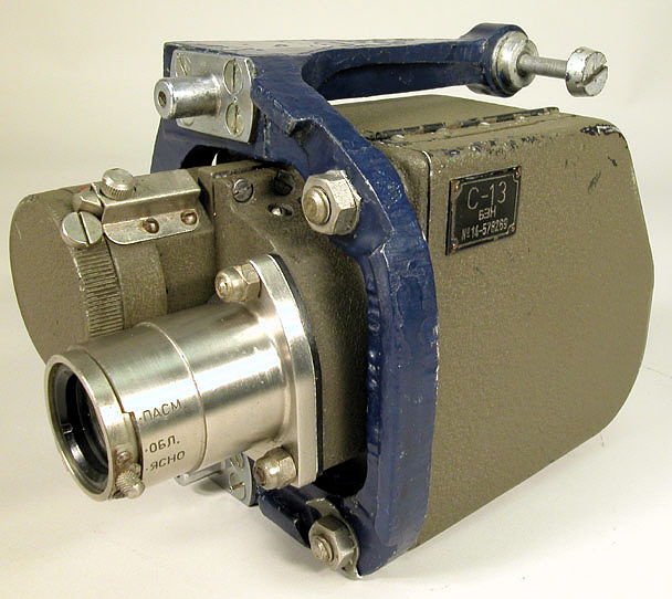Camera, Gun, Motion Picture, Russian model C-13 (S-13), Model BXN,Camera, Gun, Motion Picture, Russian model C-13 (S-13), Model BXN