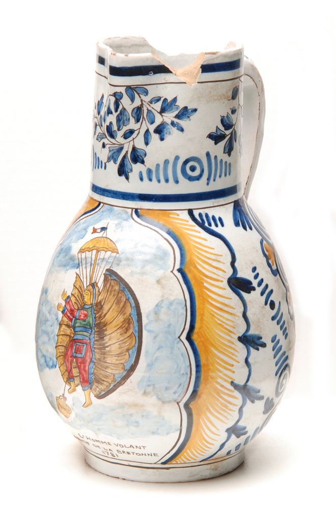 Jug, Ceramic, Painted