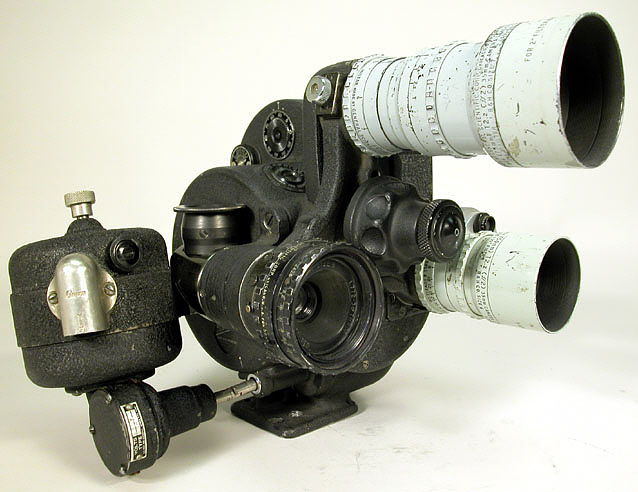 Camera, Motion Picture, Bell & Howell, Eyemo, 35mm