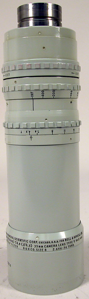 Lens, Camera, Motion Picture, Miltar 254mm, Eyemo