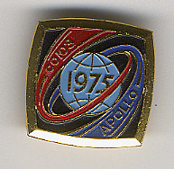 Pin, Soyuz-Apollo, 1975,Pin, Soyuz-Apollo, 1975