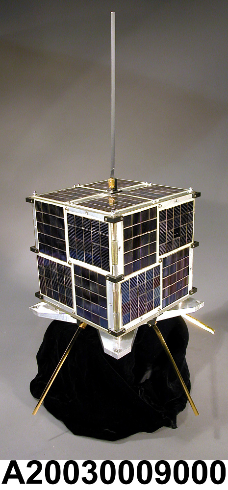 Communications Satellite, Mechanical Test Model, MicroSat,Communications Satellite, Mechanical Test Model, MicroSat