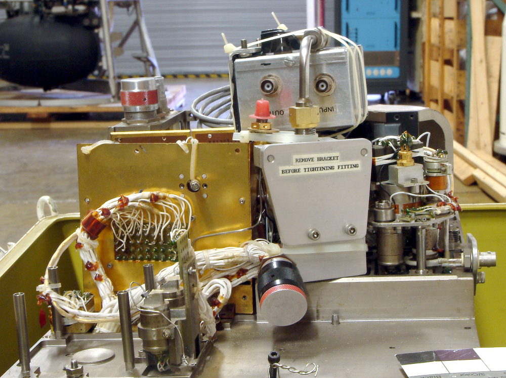 Mass Spectrometer, Gas Chromatograph, Project Viking, Prototype