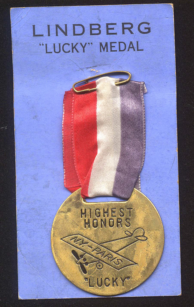 Badge, Lindbergh, King Collection