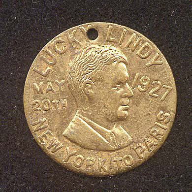 Token, Lindbergh, King Collection,Token, Lindbergh, King Collection