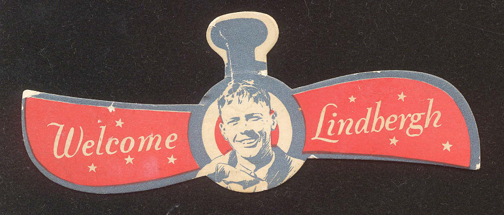 Badge, Lindbergh, King Collection,Badge, Lindbergh, King Collection