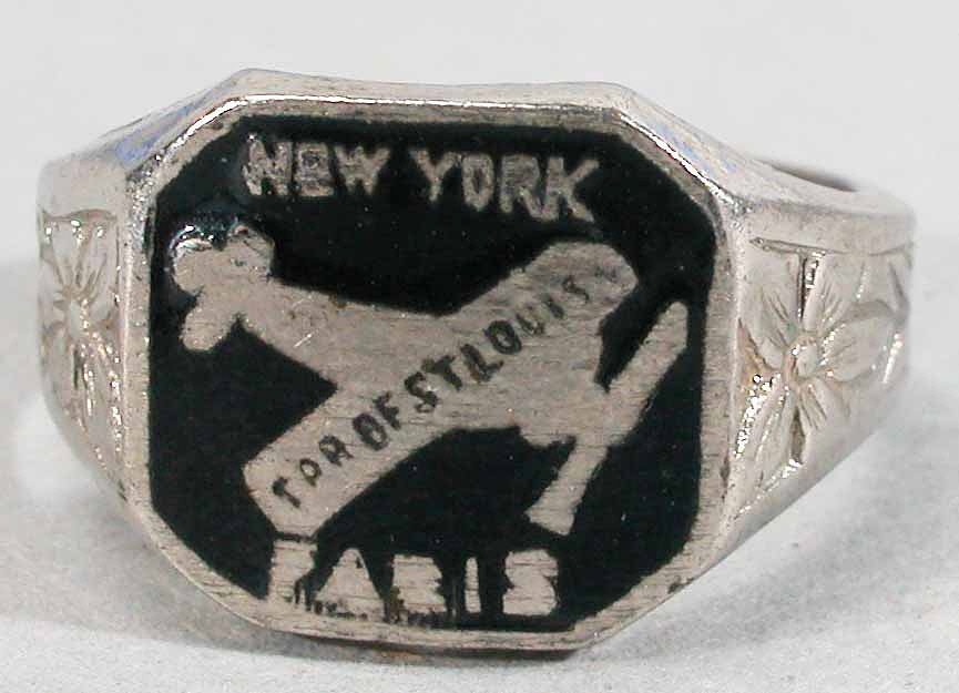 Ring, Lindbergh, King Collection