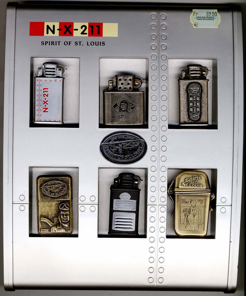 Lighter, Lindbergh, King Collection