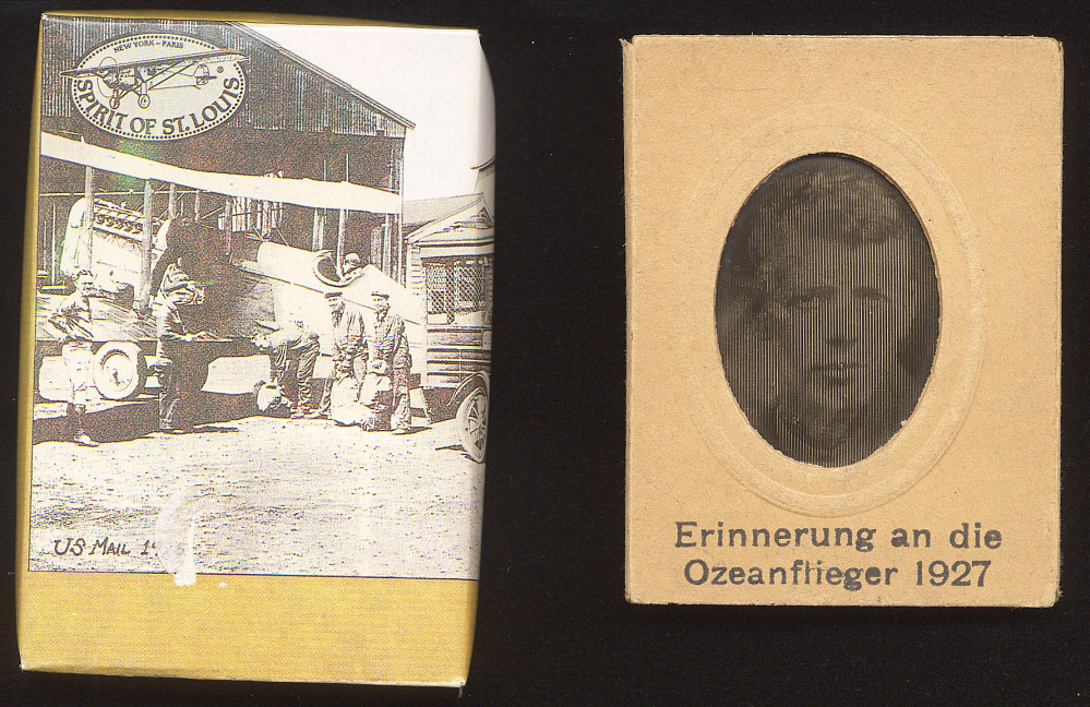 Slide Image and Box, Lindbergh, King Collection,Slide Image and Box, Lindbergh, King Collection