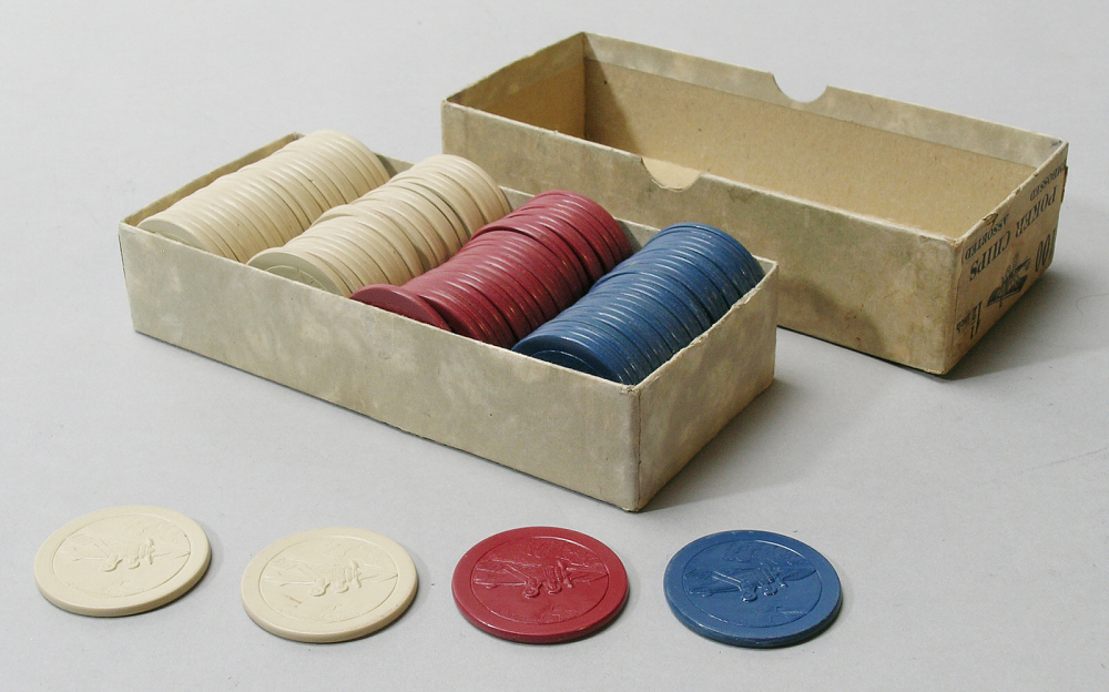 Poker Chips, Lindbergh, King Collection