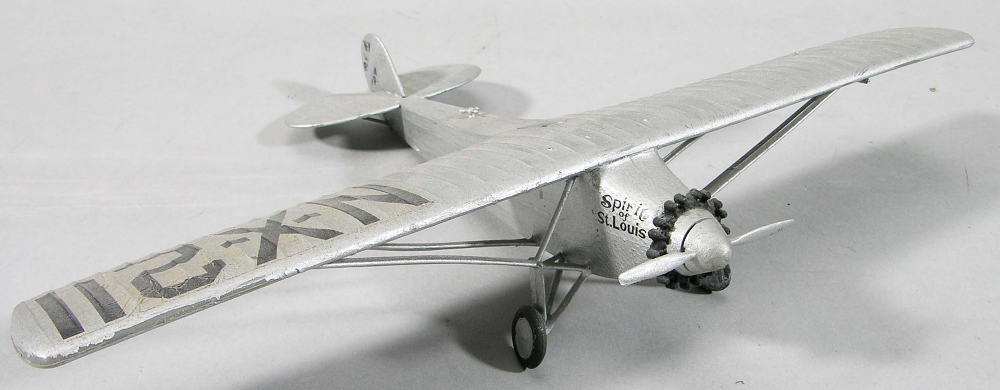 Model, Airplane, Lindbergh, King Collection,Model, Airplane, Lindbergh, King Collection