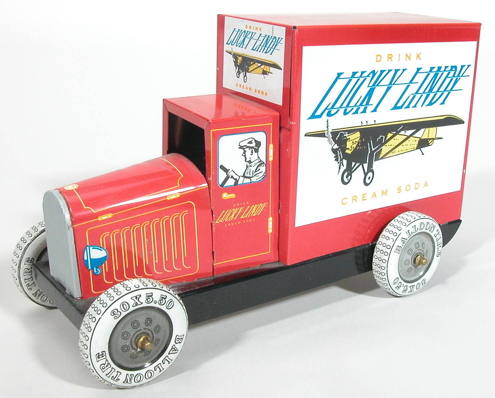 Toy, Truck, Lindbergh, King Collection
