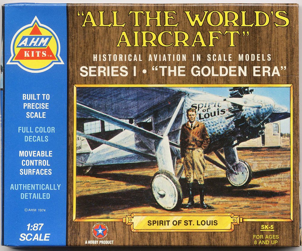Model, Airplane, Kit, Lindbergh, King Collection,Model, Airplane, Kit, Lindbergh, King Collection