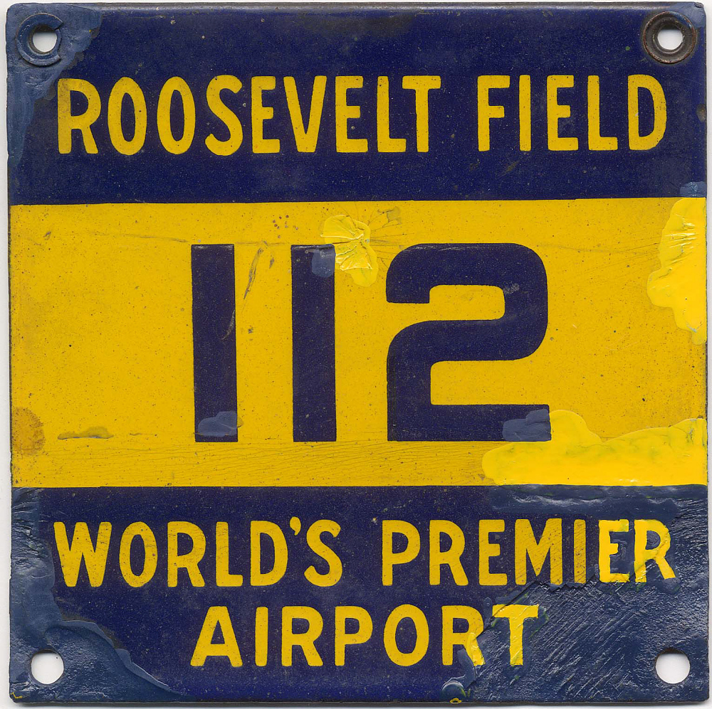 Sign, Lindbergh, King Collection