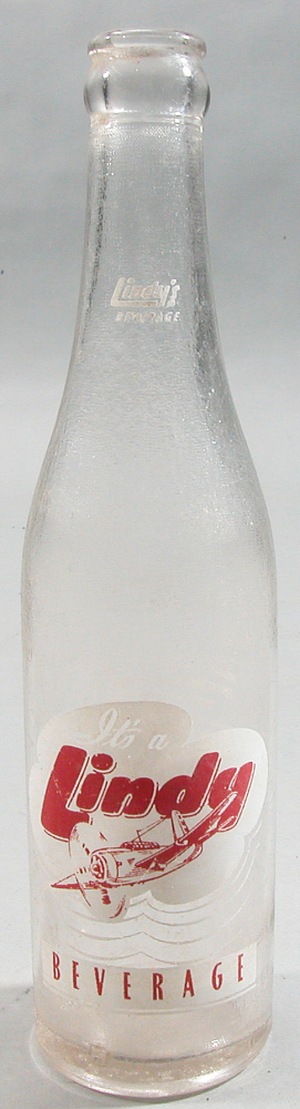 Bottle, Lindbergh, King Collection