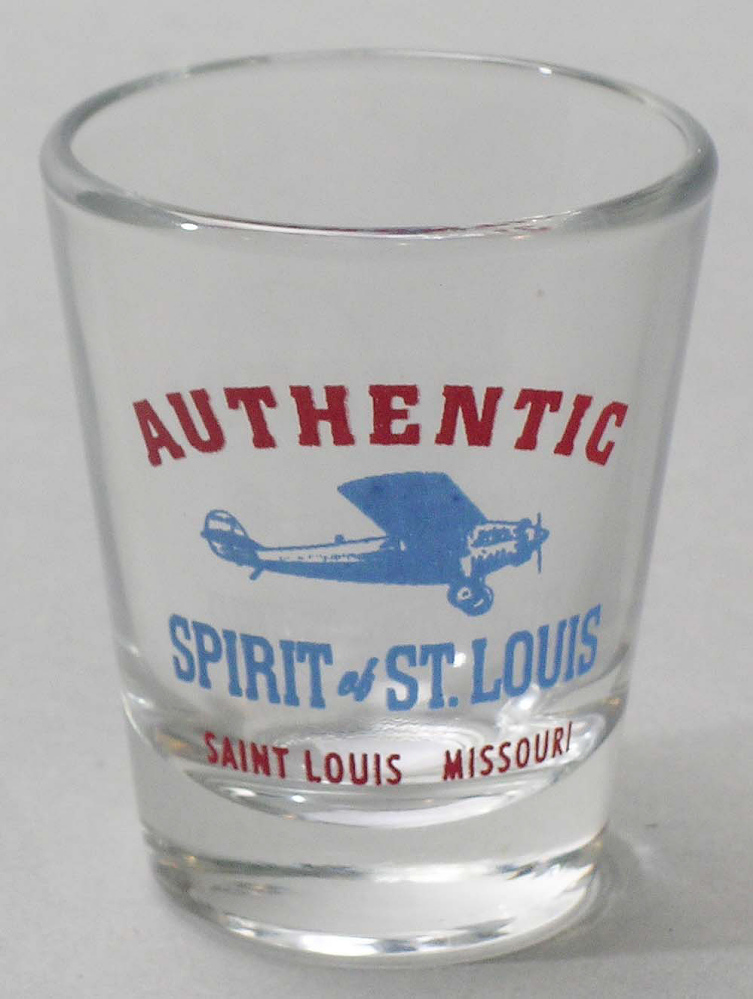 Shotglass, Lindbergh, King Collection