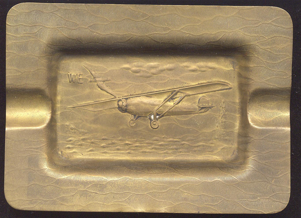 Ashtray, Lindbergh, King Collection