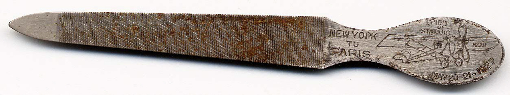 Nail File, Lindbergh, King Collection,Nail File, Lindbergh, King Collection