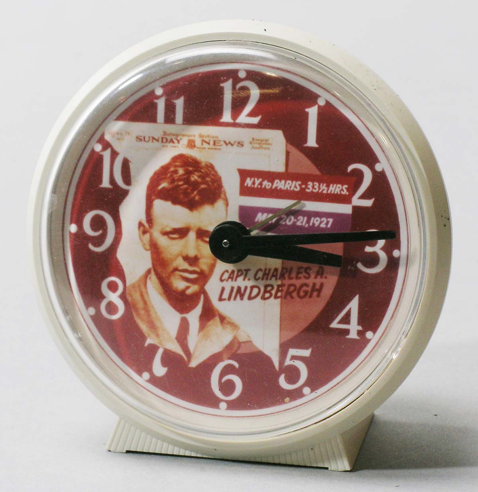Clock, Lindbergh, King Collection