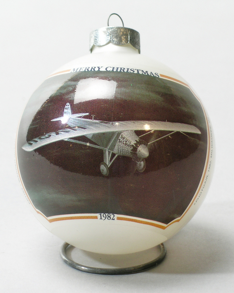 Ornament, Lindbergh, King Collection