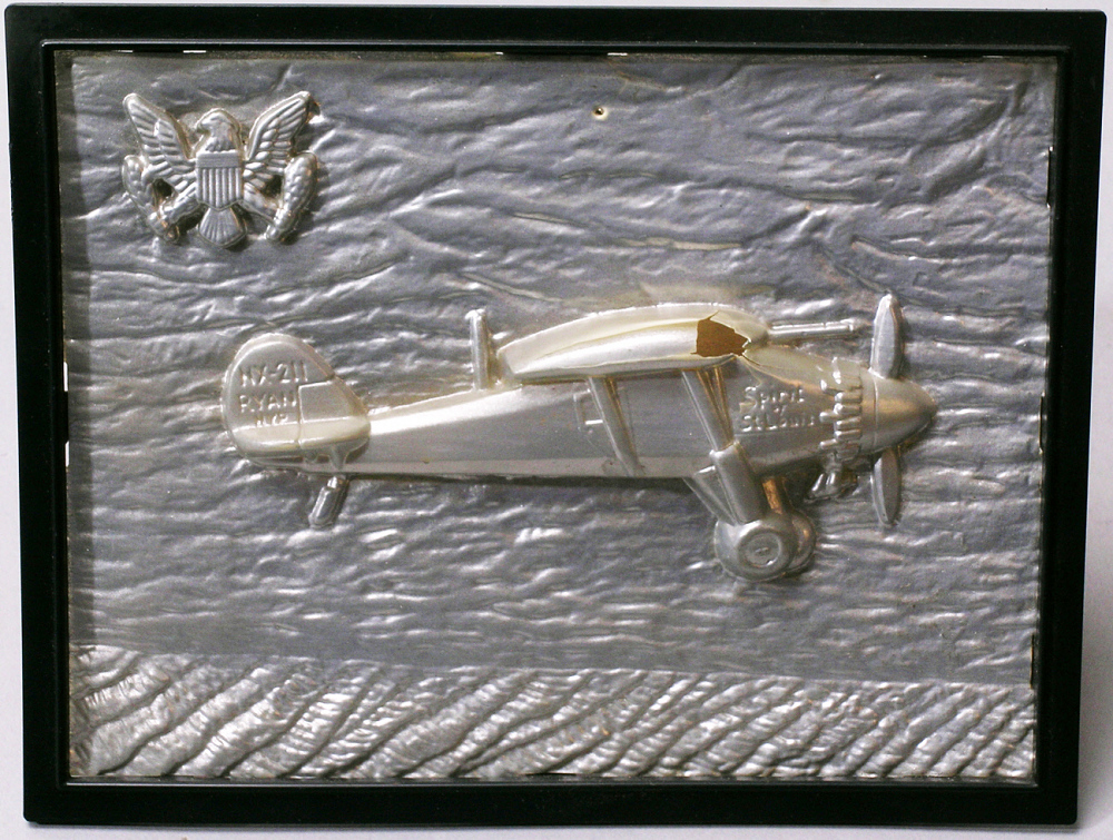 Wall Hanging, Relief, Lindbergh, King Collection
