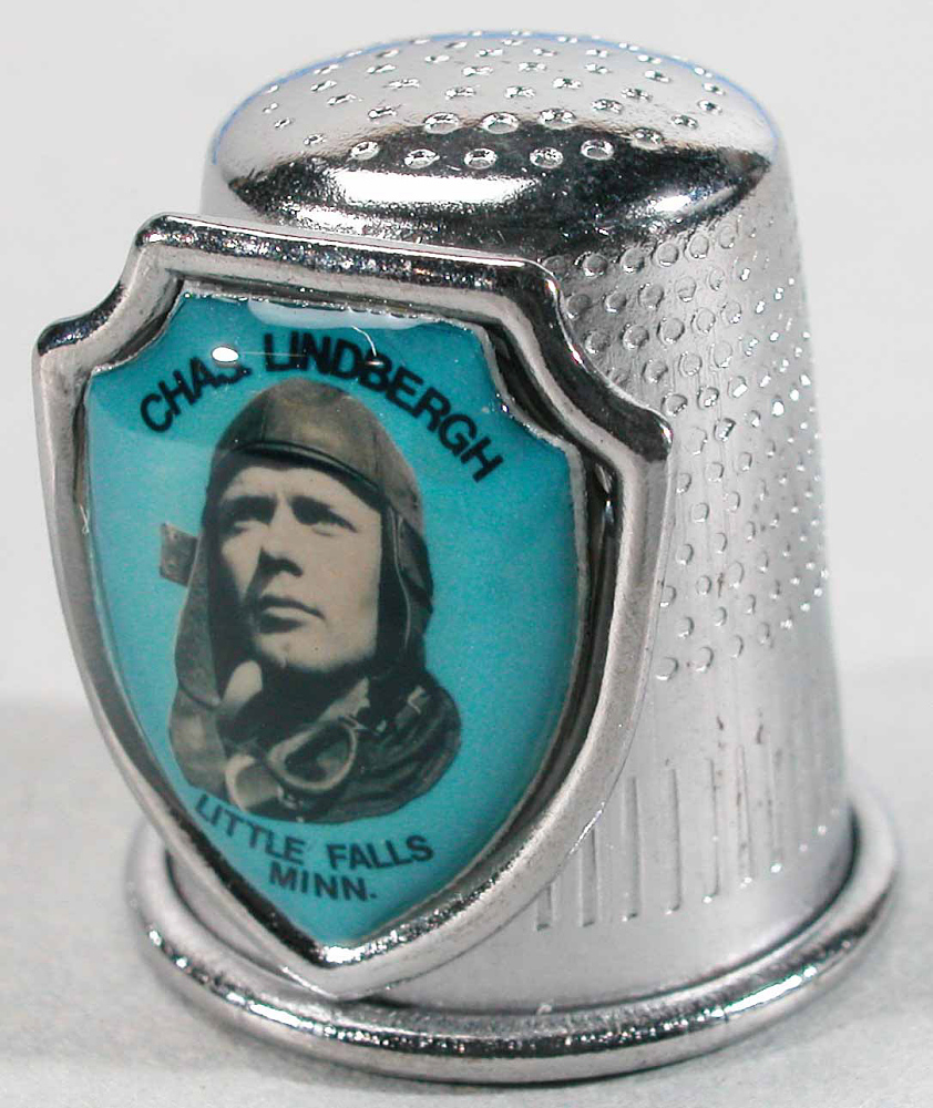 Thimble, Lindbergh, King Collection