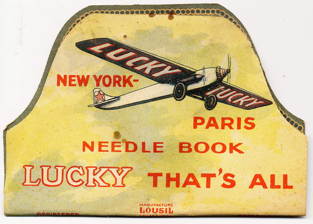 Needlebook, Lindbergh, King Collection