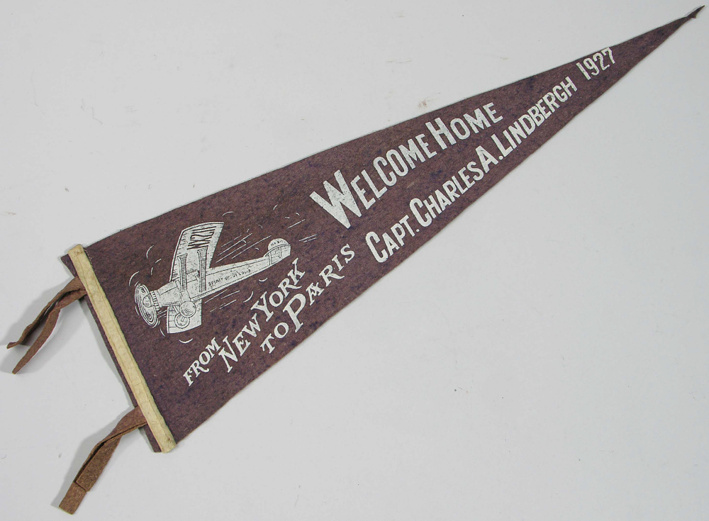 Pennant, Lindbergh, King Collection