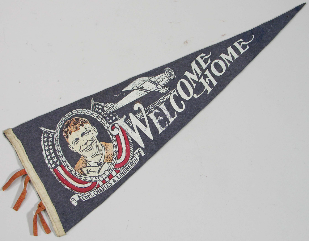 Pennant, Lindbergh, King Collection,Pennant, Lindbergh, King Collection