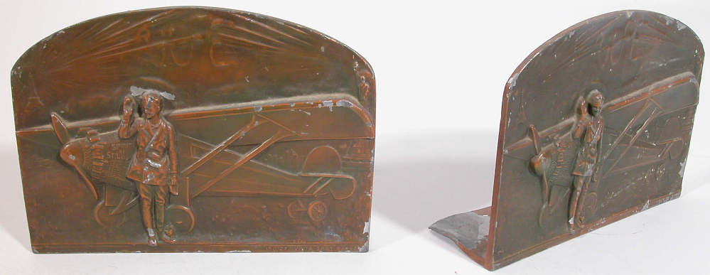Bookends, Lindbergh, King Collection,Bookends, Lindbergh, King Collection