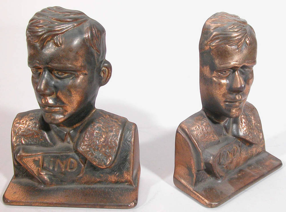 Bookends, Lindbergh, King Collection