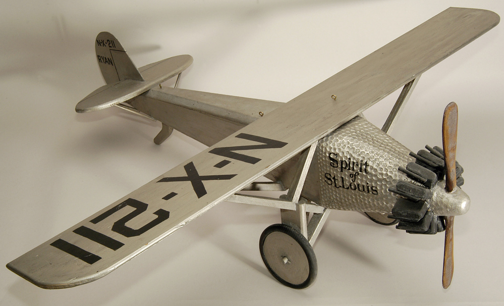 Ornament, Airplane Model, Lindbergh, King,Ornament, Airplane Model, Lindbergh, King