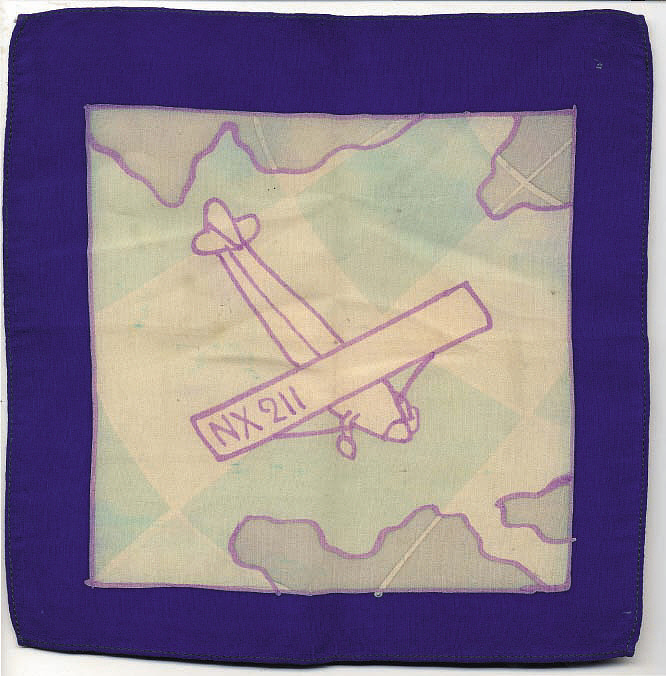 Handkerchief, Lindbergh, King Collection,Handkerchief, Lindbergh, King Collection