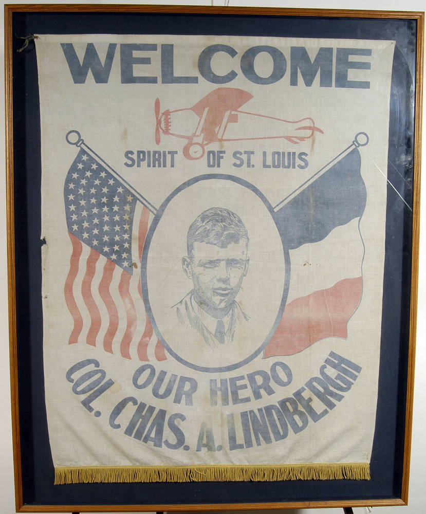 Banner, Lindbergh, King Collection