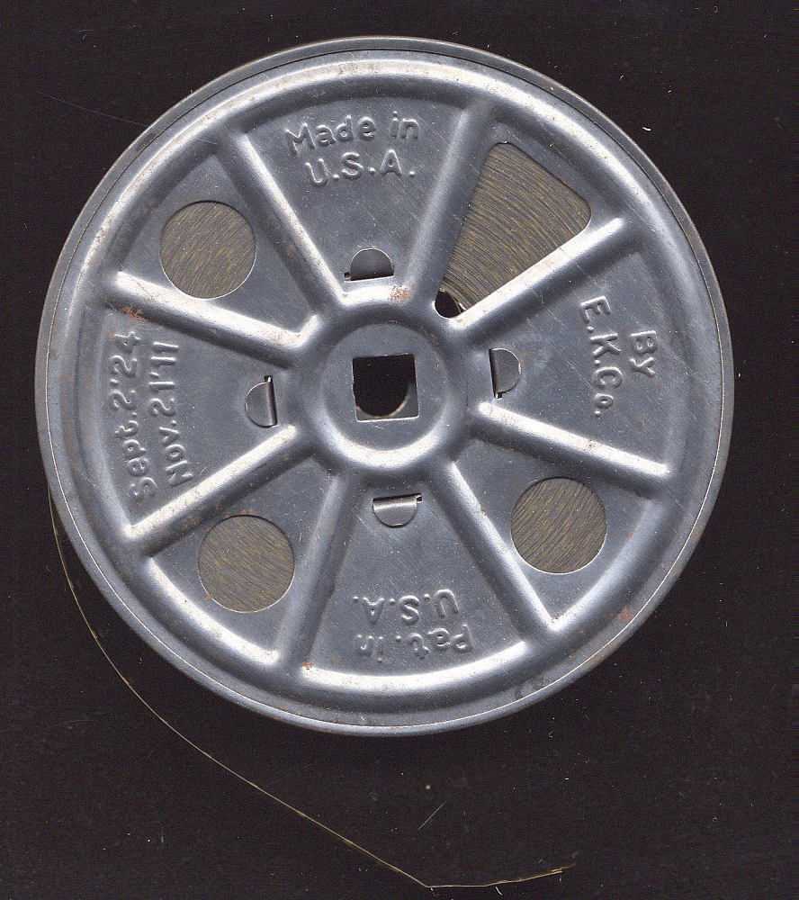 Film reel, Lindbergh, King Collection,Film reel, Lindbergh, King Collection