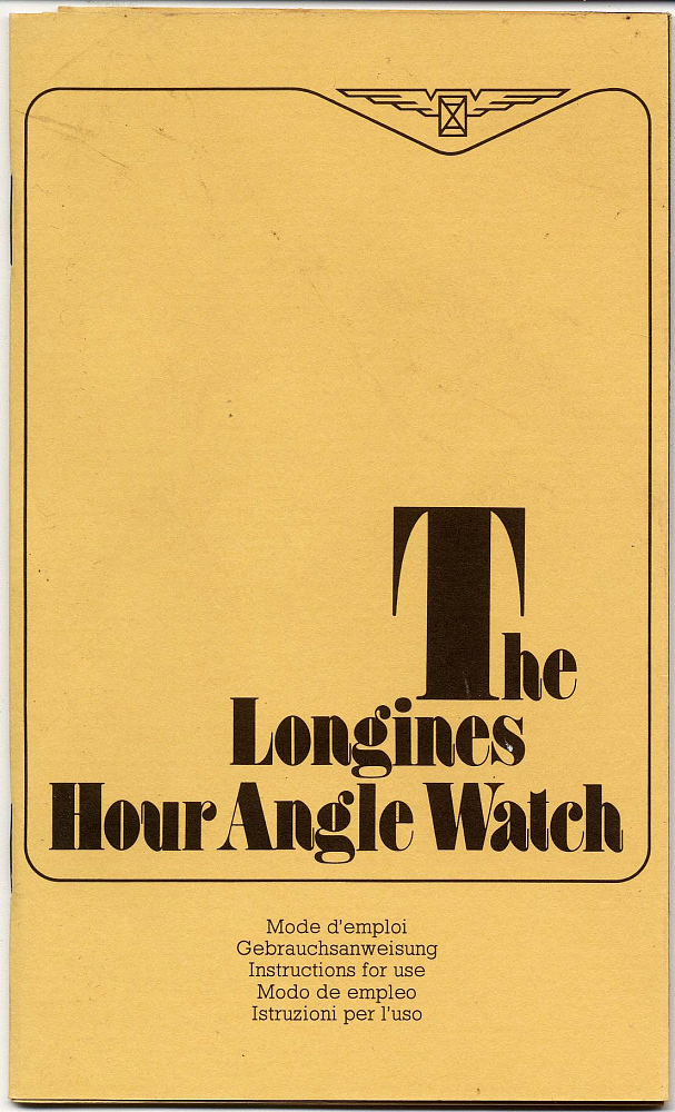 Watch Manual, Lindbergh, King Collection
