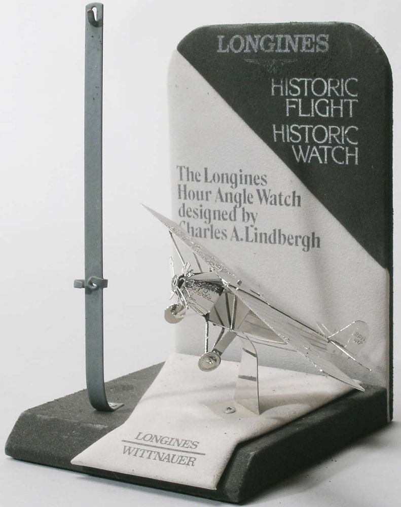 Watch Stand, Airplane Model, Advertisement, Lindbergh, King Collection