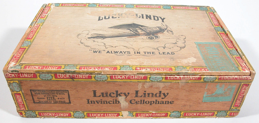 Cigar Box, Lindbergh, King Collection