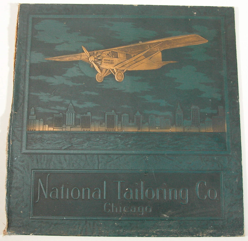 Book Cover, Advertisement, Lindbergh, King Collection
