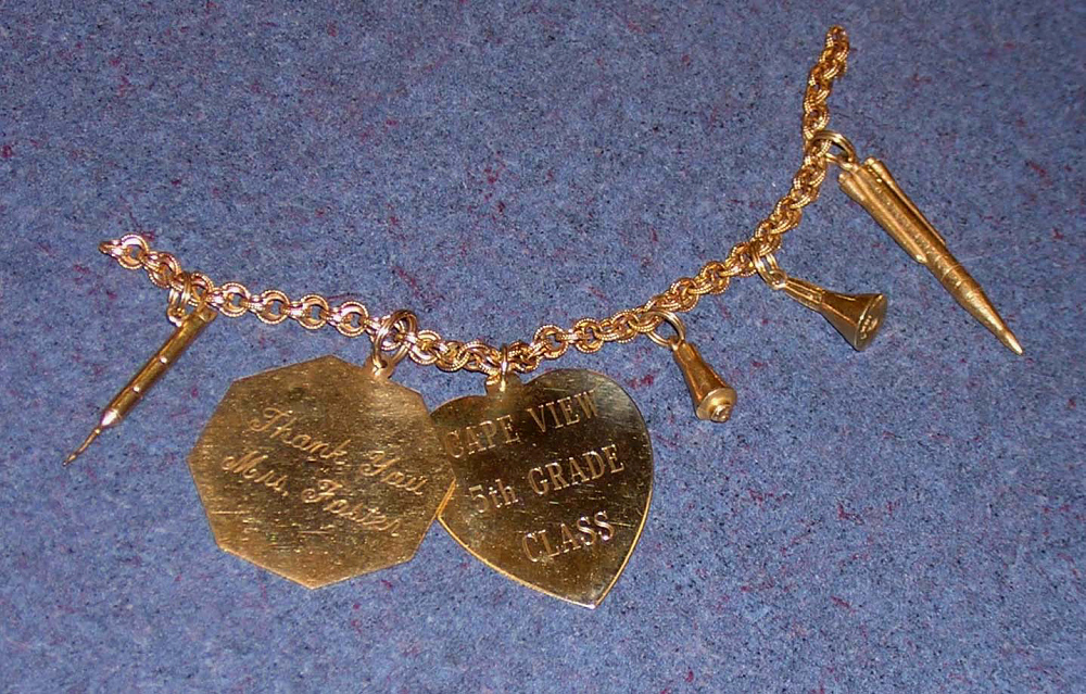 Bracelet, Charm, Mercury and Gemini