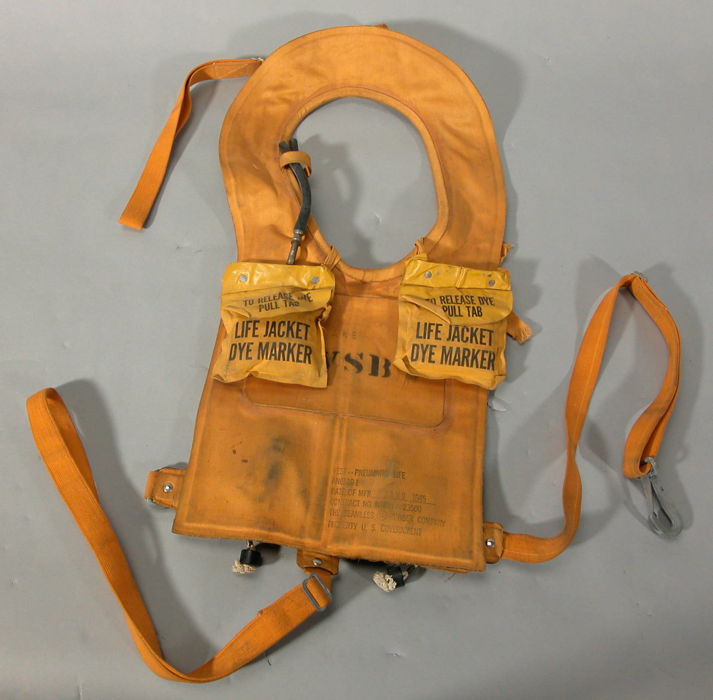 Life Vest, Type AN6519-1, United States Navy,Life Vest, Type AN6519-1, United States Navy