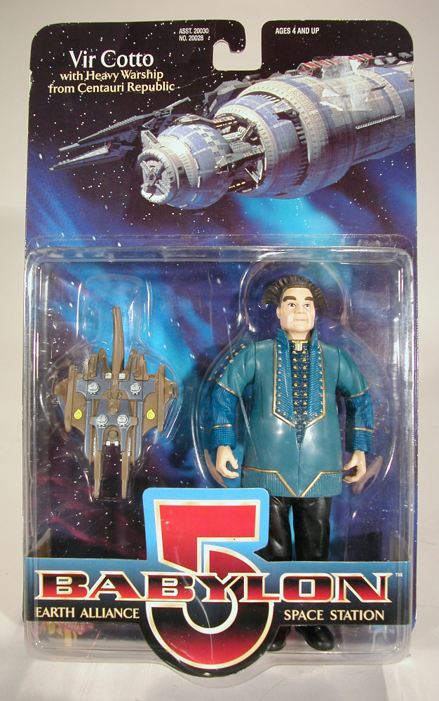 Action Figure, Babylon 5, Vir Cotto,Action Figure, Babylon 5, Vir Cotto