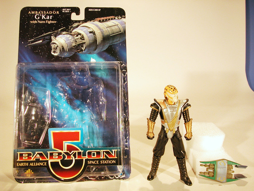 Action Figure, Babylon 5, Ambassador G'Kar,Action Figure, Babylon 5, Ambassador G'Kar