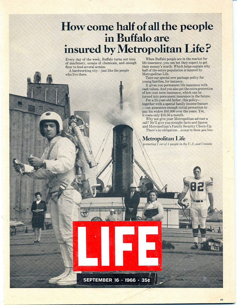 Advertisement, Life Magazine, Rocket Belt,Advertisement, Life Magazine, Rocket Belt