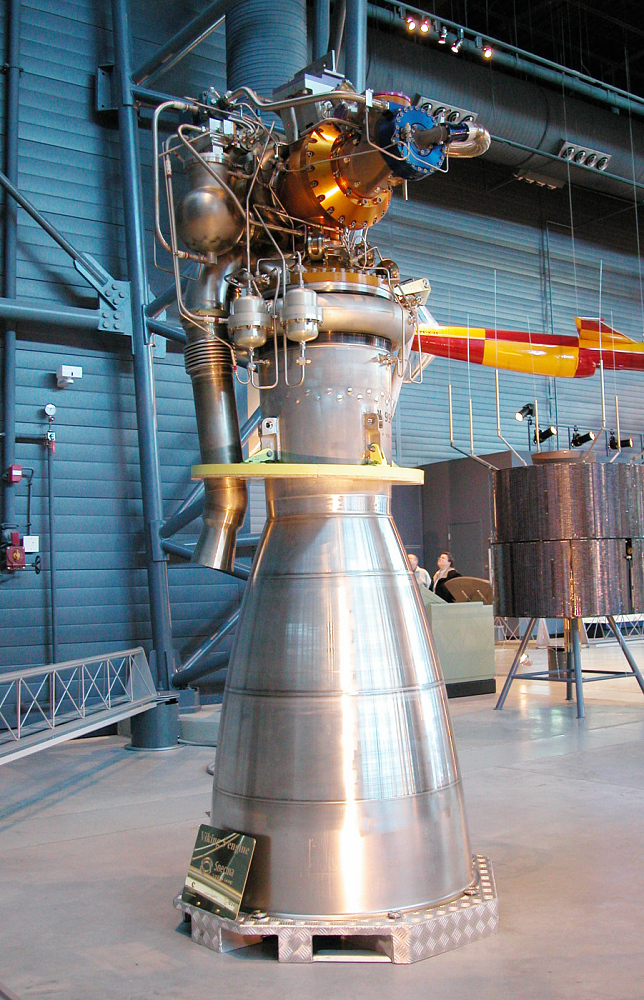 Rocket Engine, Liquid Fuel, Viking 5C